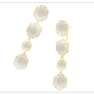 Kendra Scott Ruthie in Gold and Ivory